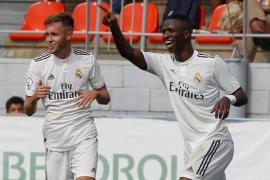Vinicius se exhibe con el Real Madrid Castilla