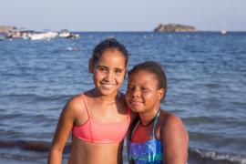 Más de 90 niños saharauis se despiden de sus familias baleares