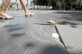 El Ayuntamiento de Palma lava la cara a la Plaça d'Espanya