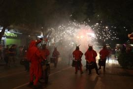 60 dimonis en el 'Blanqfoc 2018'