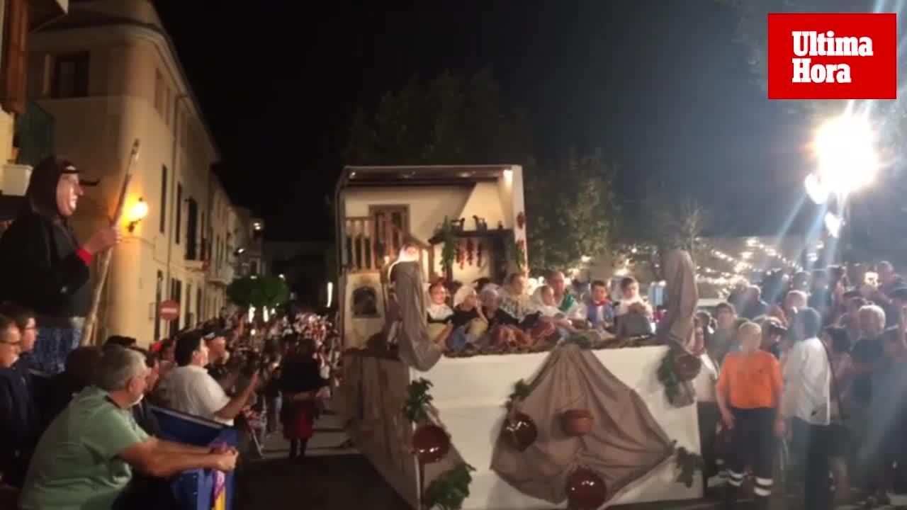 La Beata reúne en Santa Margalida a miles de seguidores