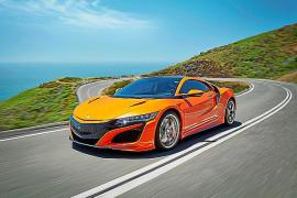 Honda mejora su deportivo híbrido NSX