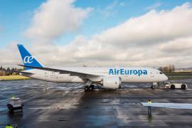 Air Europa lanza vuelos desde 29 euros a Baleares, la península y Europa