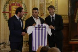Ronaldo se hace con la propiedad del Real Valladolid