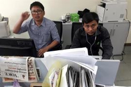 Reclaman la liberación de dos periodistas de Reuters condenados en Birmania