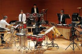 Los impulsores de la percusión en España se hacen oír en el Conservatori