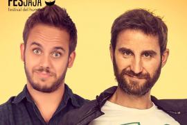 Dani Rovira y Tomás García, en Trui Teatre para la 'première' del Fesjajá Palma 2018