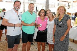 Víctor Ruiz, David Rodríguez, Ana Vega, Teresa Pérez y Antonia Pades.