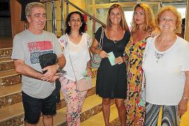 Manuel Roldán, María Urbano, Pilar Carayol, Marina Roser y Soledad Romo.