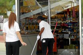 La Policía Nacional busca a los autores de dos alunizajes con un Mercedes en Palma