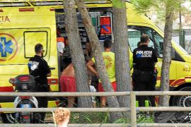 Herido grave un bebé tras caer por una pasarela en Andratx a causa del viento