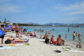 La llegada de turistas a Baleares en julio registra el primer descenso en ocho años