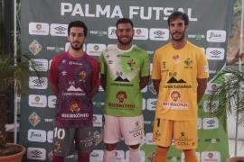 El Palma Futsal sigue fiel al verde en sus nuevas equipaciones