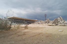 El Atlético Baleares modifica su plan de derrumbe de las gradas