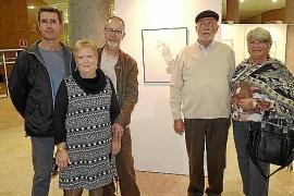 Miquel Aguiló presenta sus obras en la Tresoreria de la Seguretat Social