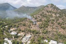 Controlado un incendio en Costa de los Pinos