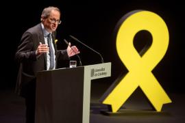 Torra ofrece a Sánchez pactar un referéndum y llama a la movilización