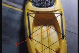 Detenidos en Palma dos jóvenes por robar un kayak e intentar venderlo por internet a su propietario