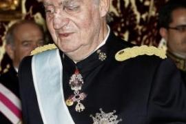 El Rey ha sufrido un «pequeño accidente  doméstico» en su ojo izquierdo