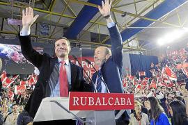 Cuatro barones del PSOE apoyan a Rubalcaba como nuevo líder del partido
