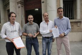 Las patronales del comercio presentan la demanda contra Aligi Molina