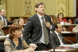 Bauzá dice a Armengol que las urnas han deslegitimado las críticas al Govern