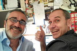 David Marqués: «Con 'Campeones' todo son alegrías desde el primer día»