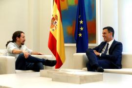 Sánchez e Iglesias avanzan hacia un acuerdo de Presupuestos con la reversión de recortes y bajada de impuestos