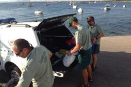 Investigan la aparición de restos humanos en el Port de Pollença