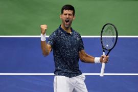 Djokovic arrolla a Nishikori y jugará su octava final del US Open