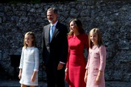 La princesa Leonor inicia en Asturias su actividad institucional