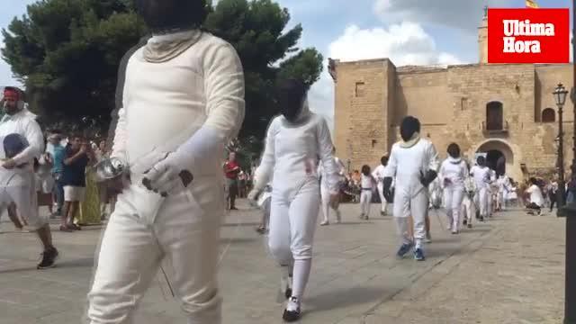 El Día Mundial de la Esgrima llega a Palma con un 'flashmob'