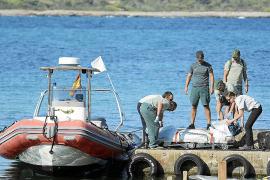 El cadáver que apareció en el mar en Pollença llevaba tres pantalones