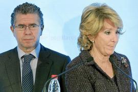 Aguirre fulmina a Francisco Granados, 'número dos' del PP madrileño
