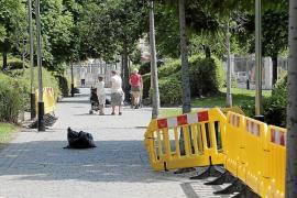 Cort prepara un plan para acabar con la degradación del Parc de ses Estacions