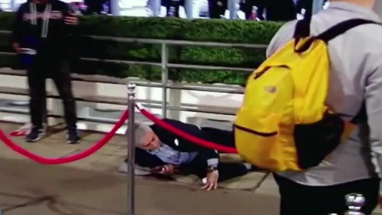 La espectacular caída de Mourinho en Wembley