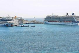 Los puertos de Baleares registran un 23 % más de afluencia de cruceristas hasta julio