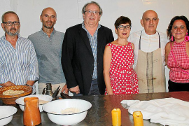 Pep Magraner, Sergio Gómez, Lluís Socies, María José Orero, Tomeu Arbona y Kika Coll.
