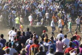Un herido por asta en el festejo del Toro de la Vega de Tordesillas