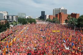 EN DIRECTO | La manifestación de la Diada de Cataluña 2018