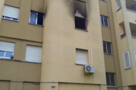 Controlado un incendio en una vivienda de Son Oliva