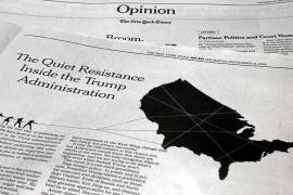 Un menorquín, en la resistencia contra Trump