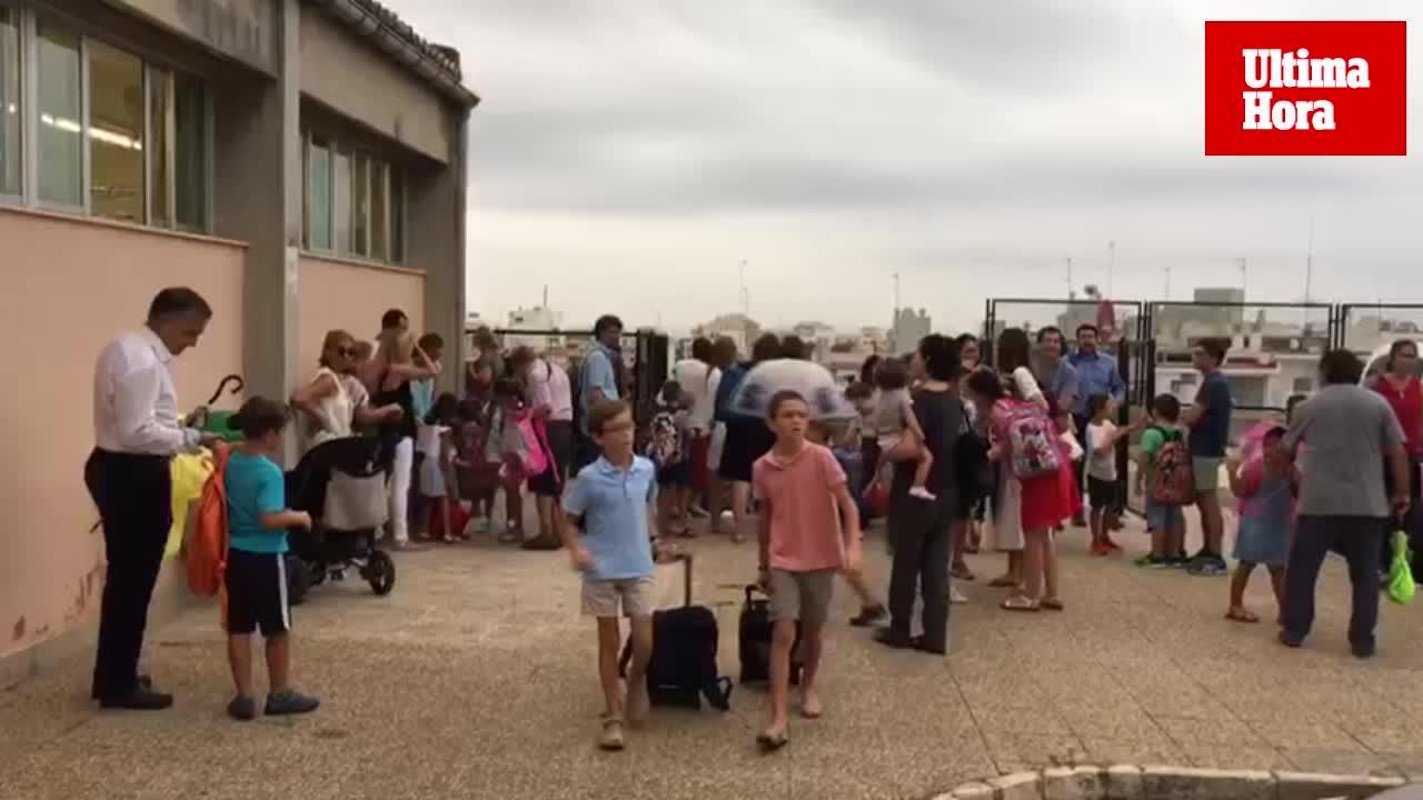 El curso escolar se inicia en Baleares con 167.973 alumnos