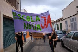 Movilizaciones para exigir nuevos colegios en Campos y Porto Cristo