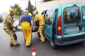 Una mujer, herida en un accidente en Secar de la Real