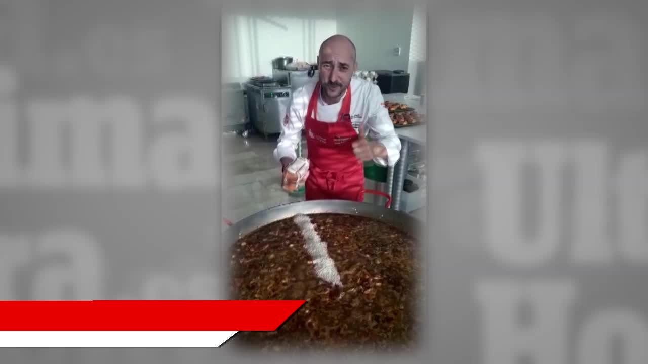 El mallorquín Kike Martí, integrante de la Selección Española de Cocina