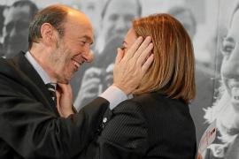 El duelo entre Chacón y Rubalcaba por la dirección del PSOE parece inevitable