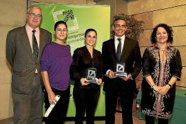 Jaime Martínez, Elianne Scarafile y Sonia Sard, premios 2011 de Joves Empresaris de Balears