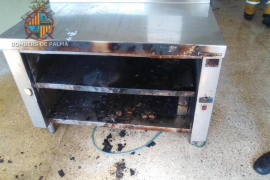 Conato de incendio en un colegio de Palma