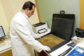 Un calígrafo utiliza la ciencia para identificar la firma de Turner en un óleo